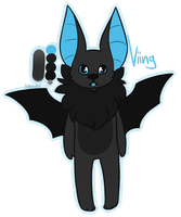 [CLOSED] Adopt: Bat by MiqotesosAdopts