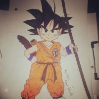 goku by dechuuuu