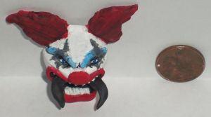 Evil Spider Clown Fan Art by Ember-lacewing