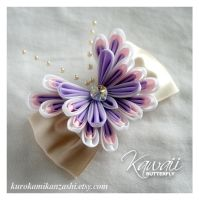 Kawaii Butterfly - FOR SALE by Kurokami-Kanzashi