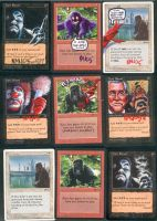 altered magic cards by kenmeyerjr
