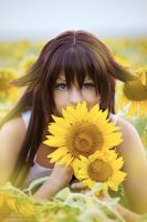 Alice with sunflowers 1 by CrazyRabbit
