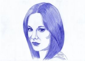 Blue Ballpoint by Cindy-R