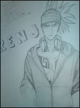 Renji from Bleach Anime by carry2