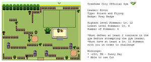 TreeDome City Gym by MyPokemonStory