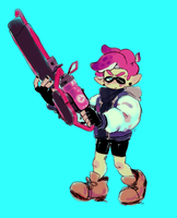 squiddo by megadinkloid