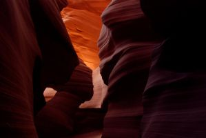 Antelope Canyon Revisited by SaldaeanFarmgirl