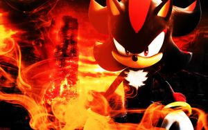 Shadow The Hedgehog - Wallpaper by SonicTheHedgehogBG