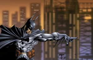 Batman Scott Campbell Townsend by juan7fernandez