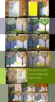 Seasons and Moon book by sitres