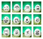 The Many Faces of Egg by 7perfect7