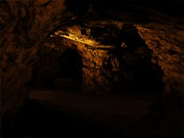 Mine, Cave photo study by Amarie-Veneanar