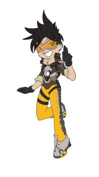 Tracer (fanart) by Animeculture