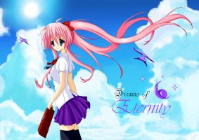 Dreams Of Eternity wallpaper ^^ by Ginchi-chan