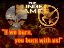 Hunger Games Quote Background by fakemon123