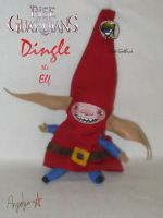 Dingle the Elf Plush by Hot-Gothics