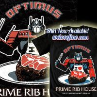 Optimus Prime Rib House by ninjaink