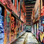 Street Art - Downtown Alley by Okavanga