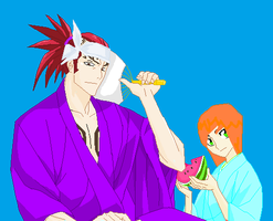 Renji And  Me by GermanyAPH77