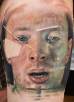 Radiohead Tattoo Thom Yorke by FinlayFish
