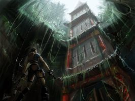 Tomb Raider Scene by Hazzard65