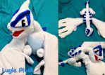 Lugia Plush by CeltysShadow