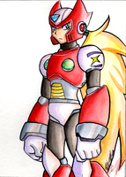 Zero Watercolor by DarkxZero23