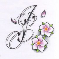 J tattoo design by WillemXSM