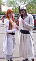 ACen 09 Orihime and Ulquiorra by GlassKitsune