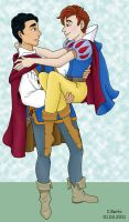 Snow White - Klaine by iules