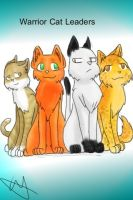 Warrior Cats Leaders by Wildface97