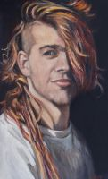 My Amazing Son - Oil Painting by AstridBruning