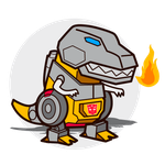Grimlock vector by Shayeragal