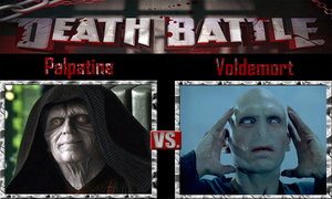 Palpatine vs Voldemort by SonicPal