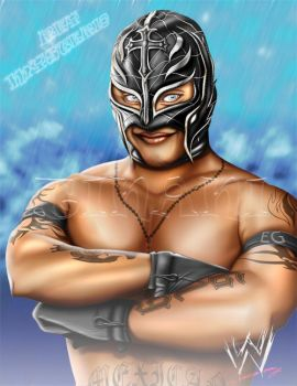 Rey Mysterio - Photoshop by Tinani