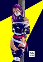 Captured Psylocke by GrouchoM