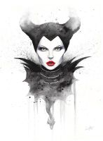 Maleficient by leamatte
