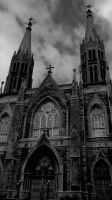 Gothic Architecture - Saint-Edouard by HarvestReaper