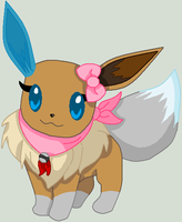 Chanakra The Eevee by MephistaTheDark