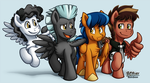 Pegasi Best Buddies (2014) by BuizelCream