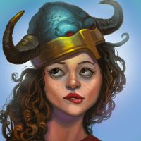 Me Horned Helmet No Fit by jhoneil