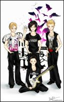 Three Days Grace by Sun-SinAngel