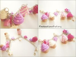Another cupcake bracelet by Shatya