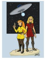 Two Girls, One Starship by jessehbechtold
