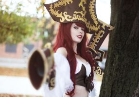Miss Fortune Cosplay Set Sail! by KawaiiTine