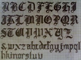 Calligraphy - Text-? by dyoli-jollie