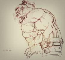 Orc? by dackQ