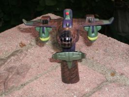 Mudfighter - robot mode 2 by Ironhold