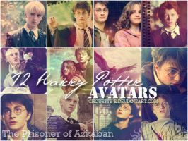 Harry Potter avatars 3 by chouette-e