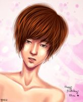 HBD Elva: Flower Boy by blingyeol